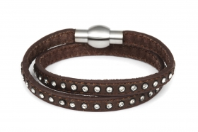 br056-dark-brown-double-bracelet