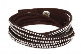 br085-dark-brown-multi-strand-bracelet